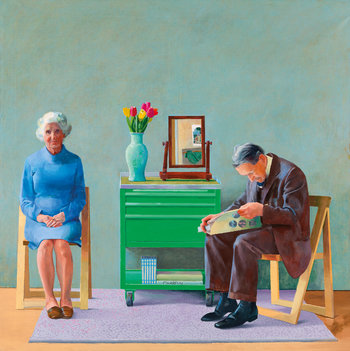 David Hockney, My Parents, 1977 © Tate